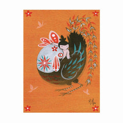 Artwork- Year of Rooster 'Hug'
