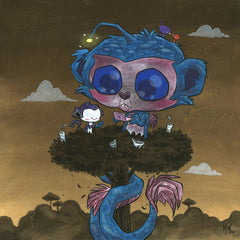 Sea Monkee 3DS Original Painting