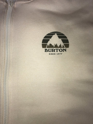 Burton: Oak Full Zip Hoodie Creme Brulee Heather
