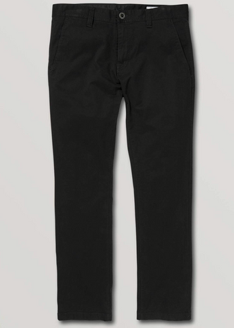 Volcom: Fricken Slim Chino - Black