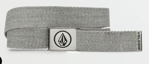Volcom Circle Web Belt-Heather Grey