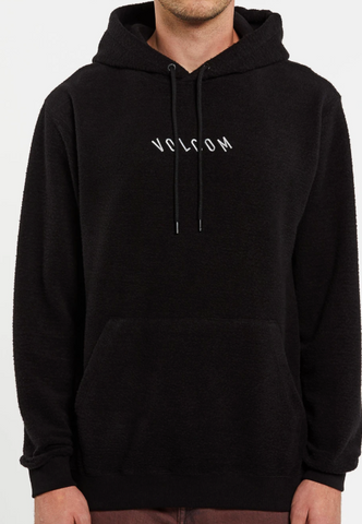 Volcom Hever Hooded Pullover-Black
