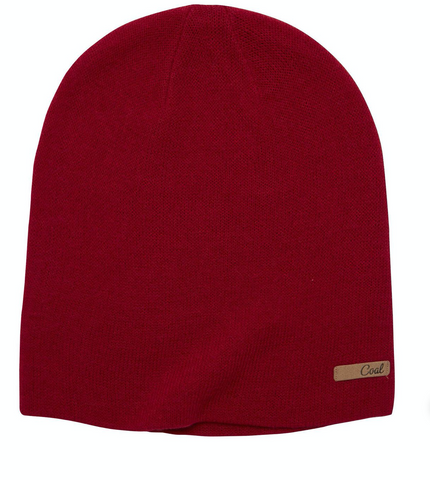 Coal Headwear: Julietta Beanie - Ruby Red