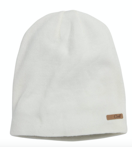 Coal Headwear: Julietta Beanie - Creme