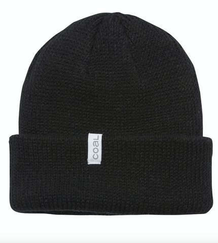 Coal Headwear: The Frena Beanie - Black