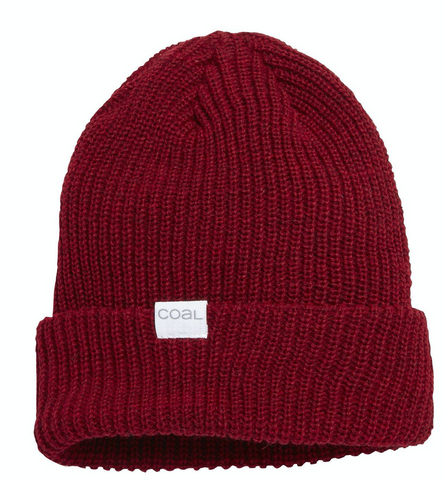 Coal Headwear: Stanley Beanie - Dark Heather Red