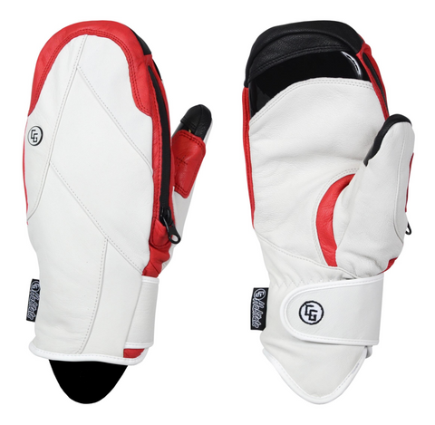Candy Grind: Handbag Mitten - HD White Red