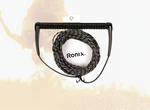 Ronix: Combo 4.0 - Hide Grip w/75ft Rope - Black