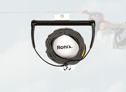 Ronix: Combo 3.0 - Hide Grip w/70ft Rope - Black