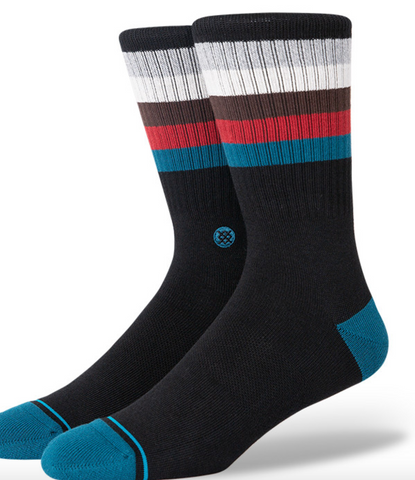 Stance Socks: Maliboo-Black