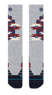 Stance Snow: Kid's Landers Socks -Heather Grey