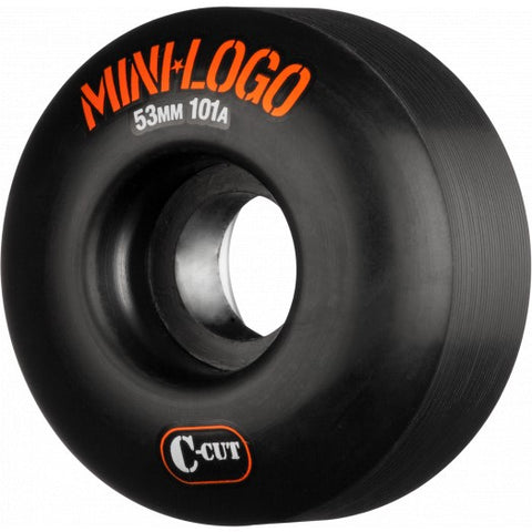 Mini Logo C-cut 53mm 101A Skateboard Wheels