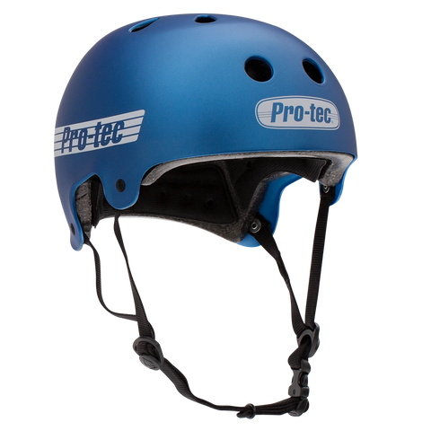 Pro-Tec: Old School Certified Helmet - Matte Metallic Blue