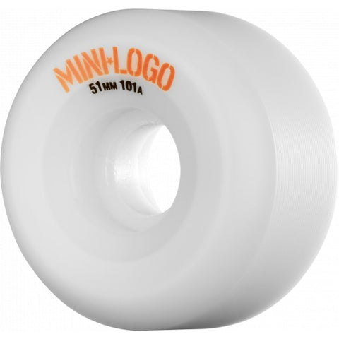 Mini Logo A Cut 51m 101a - White