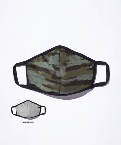 Stance: Ramp Camo Mask - Army Green