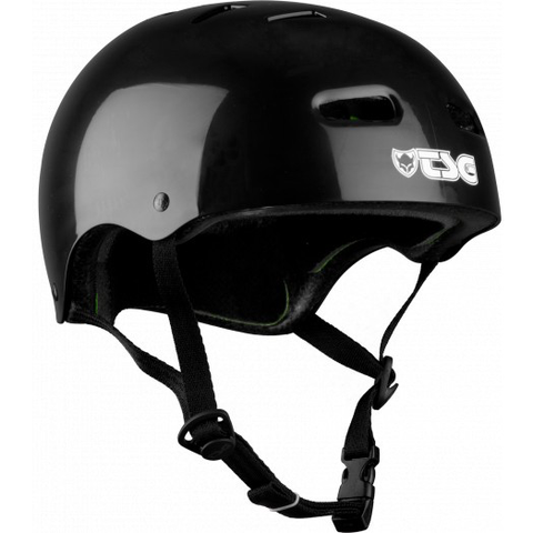 TSG Helmets: Skate/BMX - Injected Black