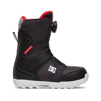 DC Snowboarding: Youth Scout Boot - Black