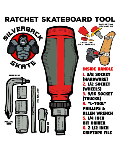 Silverback Skate Ratchet Tool