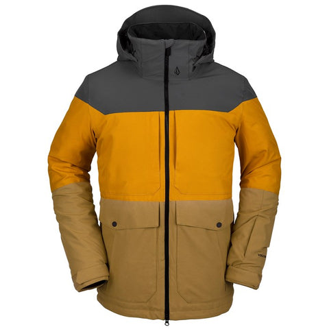 Volcom Snow: Tri Star Insulated Jacket - Burnt Khaki