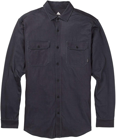Burton: Midweight Oxford Shirt - True Black/Carpenter