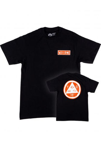 Welcome Latin Talisman Premium Tee Black/Oramge/White