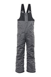686: Boys' Frontier Insulated Bib - Grey Melange