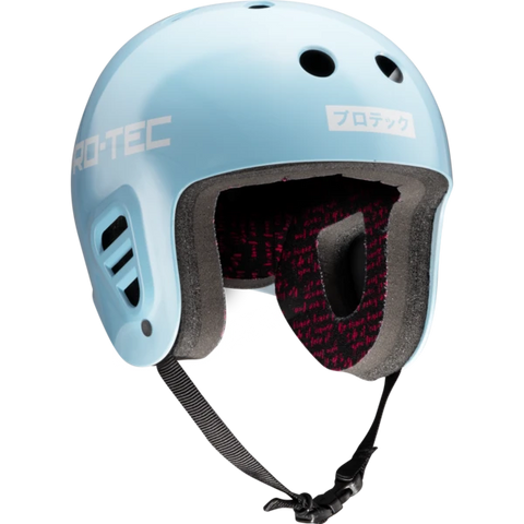 Pro-Tec: Full Cut Certified Helmet Sky Brown - Blue
