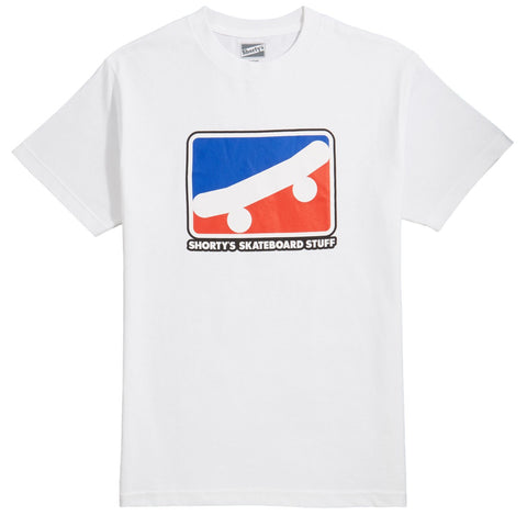 Shorty's: Skate Icon T-Shirt - White
