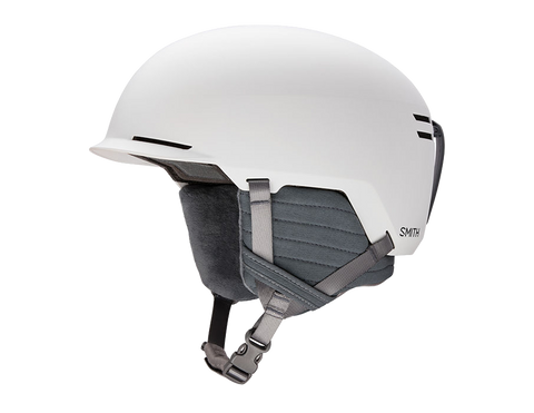 Smith: Scout Helmet w/Bombshell Construction - Matte White