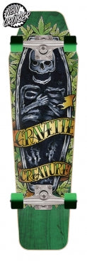 Creature: Gravette Skully 8.47in x 28.8in Cruzer