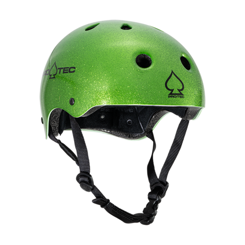 Pro-Tec: Classic Certified Helmet - Candy Green Flake