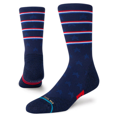 Stance Socks: Independence Crew - Navy