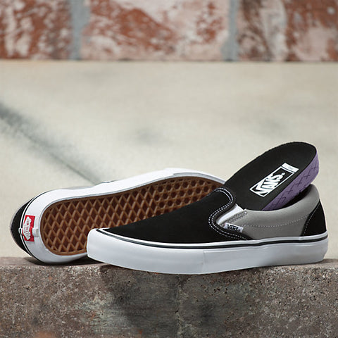 Vans: Slip-On Pro (Nation) - Black/Silver
