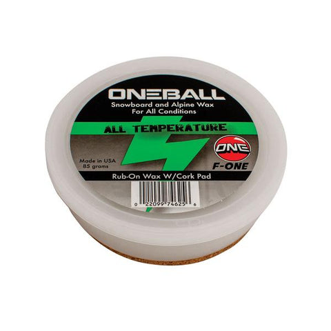 One Ball: F-1 Rub-On Wax (85g)