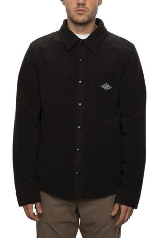 686: Men's Sierra Fleece Flannel - Black