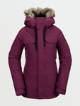 Volcom Snow: Women's Aris Insulated GORE-TEX Jacket -Vibrant Purple