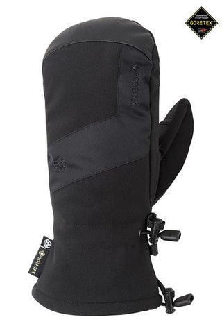 686: Mens GORE-TEX Linear Mitt - Black