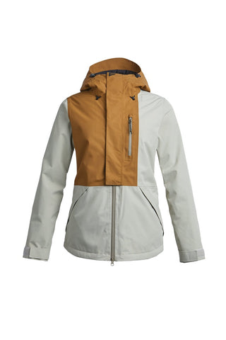 AirBlaster: Women's Sassy Beast Jacket - Grizzly