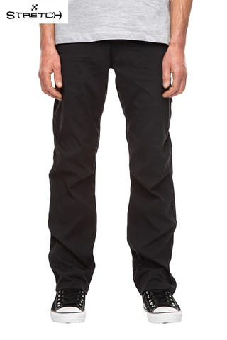 686: Mens Everywhere Pant Relax Fit - Black