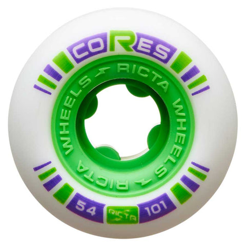 Ricta Cores 54mm Neon Green 101a