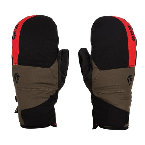 Volcom Snow: Stay Dry GORE-TEX Mitt - Red