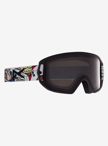 Anon Goggles: Kids Relapse JR + MFI Face Mask - Crazy Black