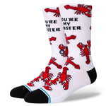 Stance Socks: You're My Lobster - White
