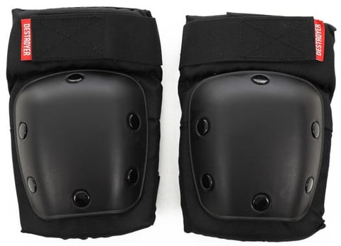 Destroyer R Series Elbow Pads - Black