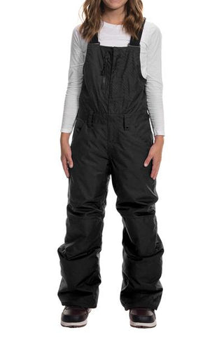 686: Girls Sierra Insulated Bib - Black