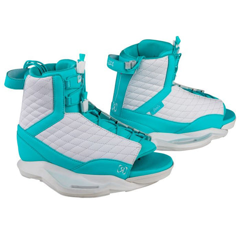 Ronix: Luxe Women's Boots - White/Blue Orchid