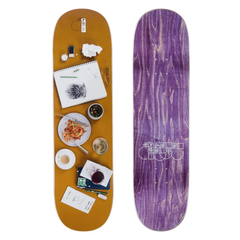 Habitat Skateboards: 8.375 Stefan Place Setting Deck
