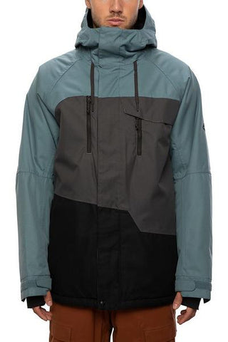 686: Men's Geo Insulated Jacket - Goblin Blue Colorblock