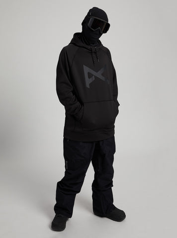 Anon: MFI Pull Over Hoodie - Black