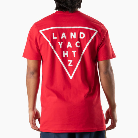 Landyachtz Red Triangle Logo T-Shirt